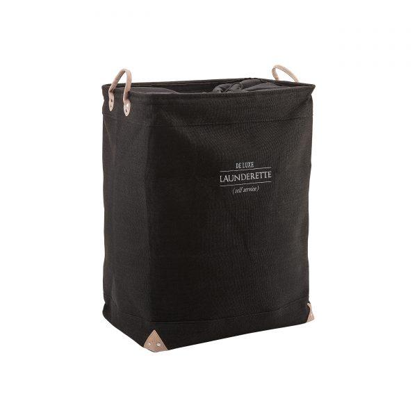 lubin-wäschebehälter-schwarz